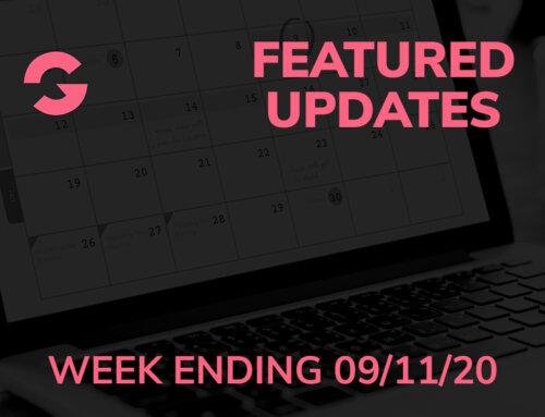 GrooveFunnels™ Featured Updates: Week Ending 09/11/20