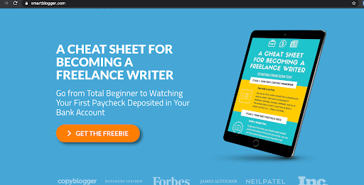A Cheat sheet for becoming a freelance writer