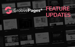 Feature Update - GroovePages