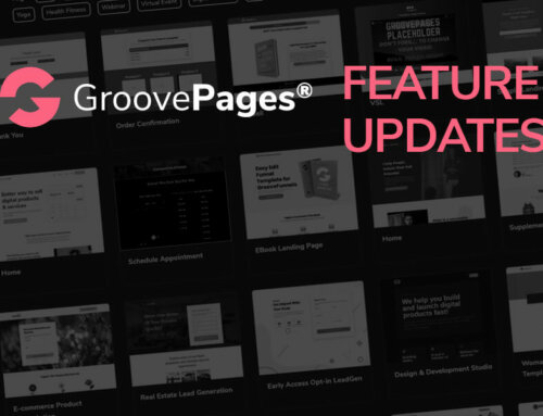 GroovePages Changelog