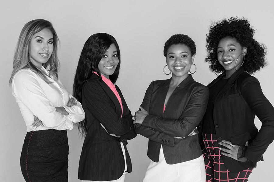Group of women entrepreneurs