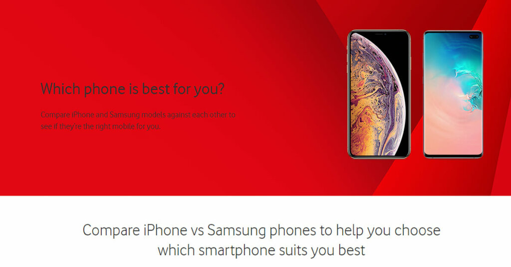 Comparison-Iphone-vs-Samsung